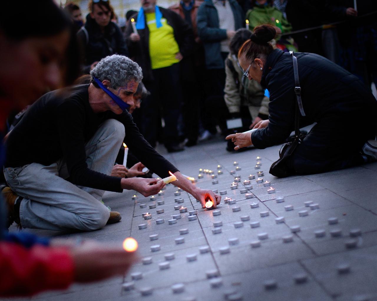 Protestas por la Ley Mordaza