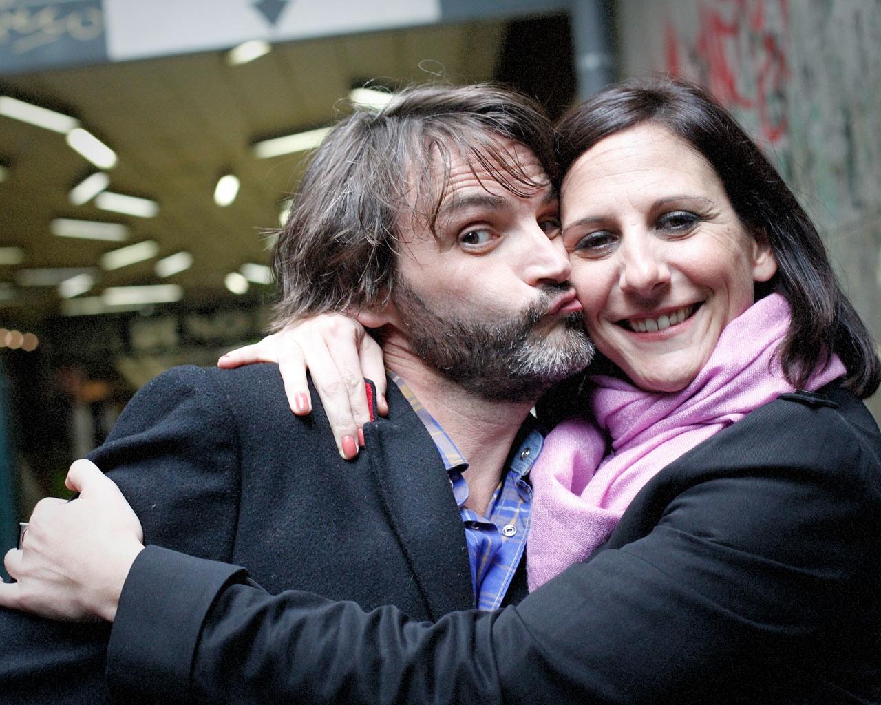 Fernando Tejero y Malena Alterio