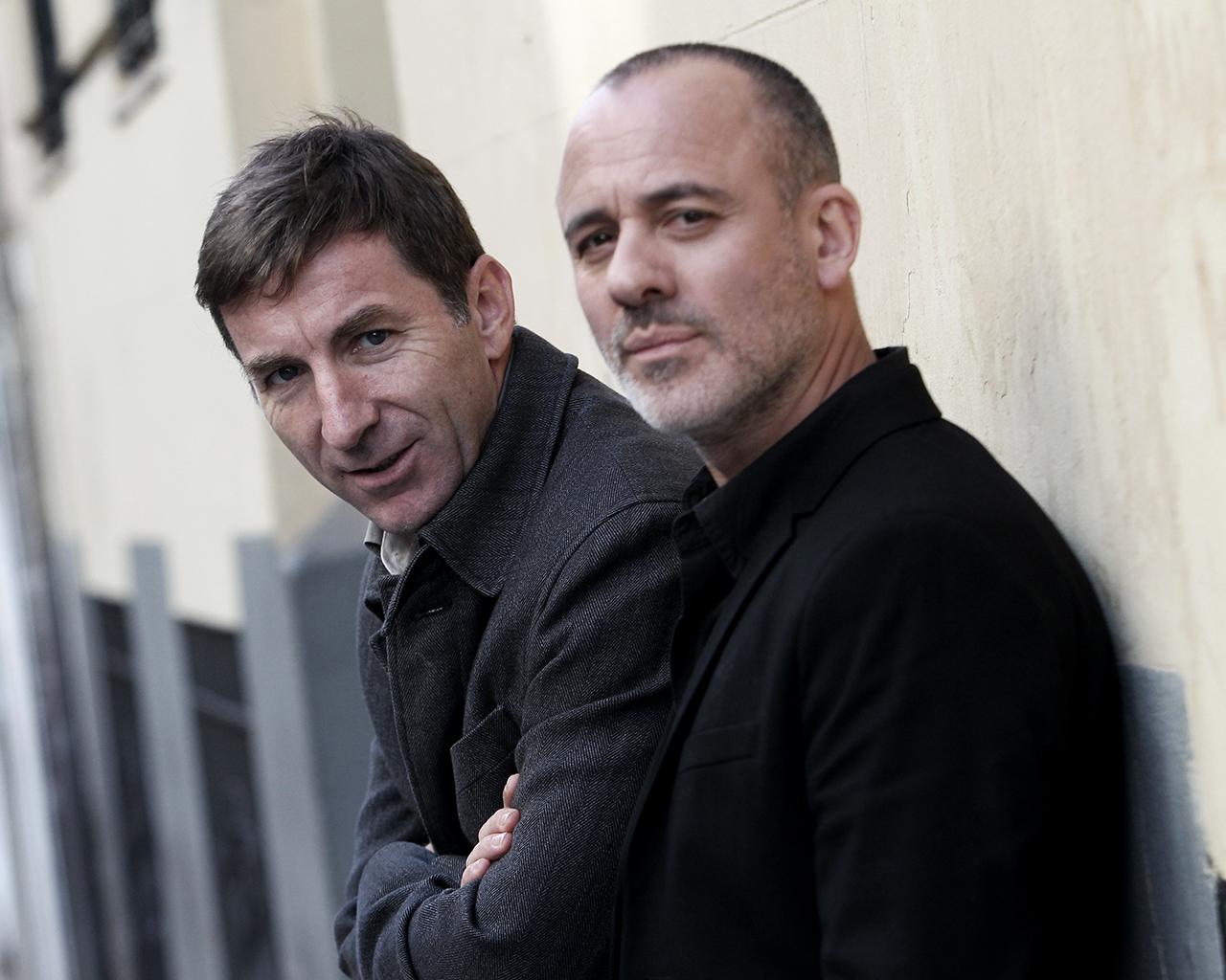 Antonio y Javier