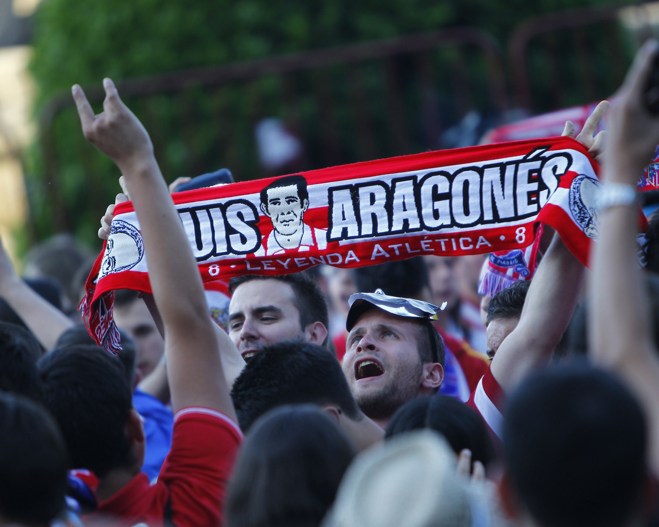 Celebración de Liga del Atlético de Madrid